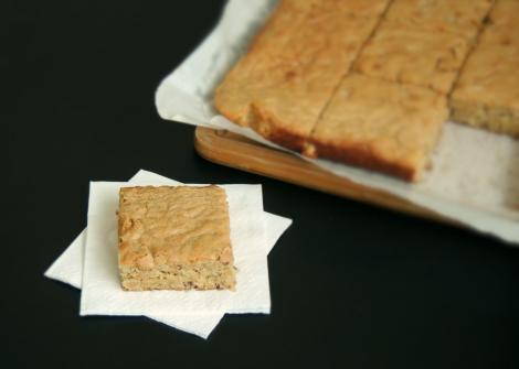 blondies de banana